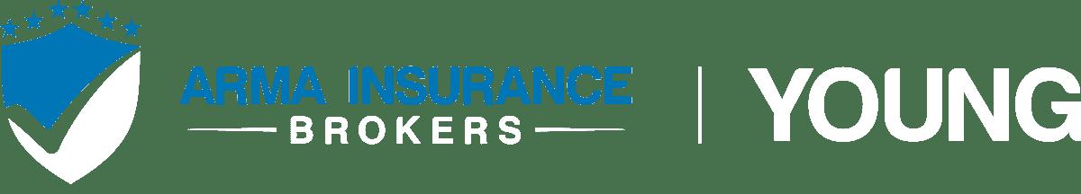 Arma Insurance Brokers Young Logo